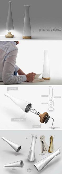 Creative table lamp design 12-21