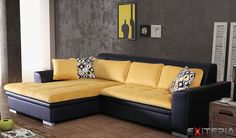 Rohová súprava Atanasie, rozkladacia s úložným priestorom #couch #sofa #divan #settee