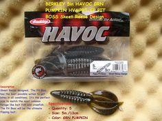 BERKLEY 5 in HAVOC PIT BOSS GREEN PUMPKIN HVMPPB5-GP http://fishingbaitslures.com/products/berkley-5-in-havoc-pit-boss-green-pumpkin-hvmppb5-gp