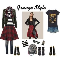 """Grunge Style"" by marianariva on Polyvore"
