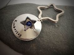 """Star locket keyring or necklace. """"You're a star"""". Great gift for teachers, keyworkers, bridesmaids and more"""