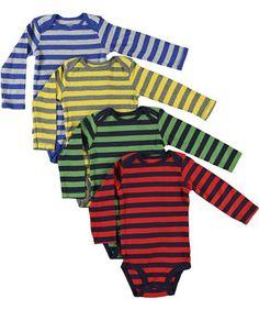 TOPSELLER! Carter's Baby Boys 4-pack Long-sleeve... $17.44