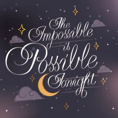 The Impossible Is Possible Tonight | Smashing Pumpkins Stretched Canvas