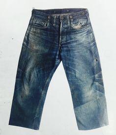 Vintage wash inspirations  #denim  #jeans  #vintage  #indigo  #denimporn