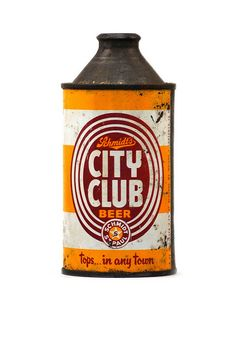 City Club Lager, they don't make 'em like this anymore.  #packaging