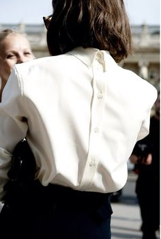 Classic Styling of a staple white shirt helps to symbolise Longevity
