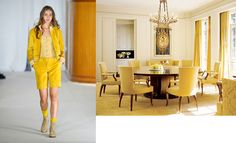 Agnes B Spring 2012 RTW and Architectural Digest