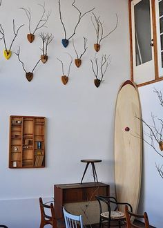 stick-idermy, DIY wall decor