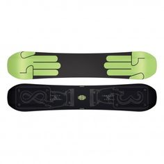 #Bataleon Evil Twin Wide #snowboard black green