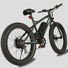"""Product review for 26"""" Fat Bike Tire Wheel Men Snow Beach Mountain electric Bicycle 500W electric moped - This Model Of Electric Bicycle Is The Perfect Present For An Outdoor Type That Will Give You And Your Family Hours Of Great Riding In The Fresh Air. The 26"""" Fat Bike Is A 36V 11AH Lithium Battery Powered Electric Bicycle, Running On A 500 Watt Rear Hub Motor. – Power: Electirc –..."""