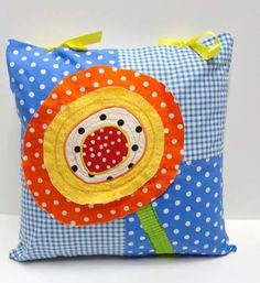 Pillow - super cute!  Gonna have to make some of these for my new couch!