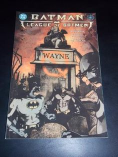 2001 DC Batman League Of Batman #1 Comic Book Free Shipping!!