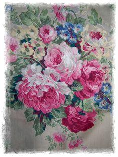 roses, pink, vintage....I'm in heaven