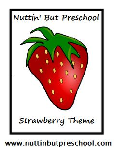All Strawberry theme related things....perfect for this week!
