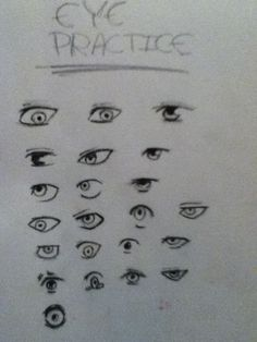 No reference eyes By: MARISSA