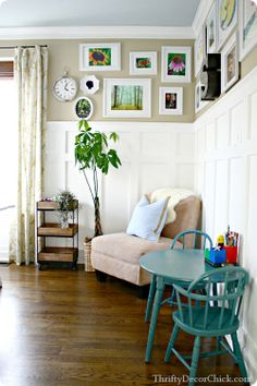 Thrifty Decor Chick: Looking back: A bright office