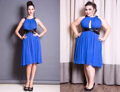 vestido de festa plus size a gorda e a magra