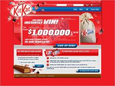 Nestle Kit Kash Contest Site