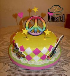Torta #PazYAmor