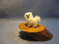 Your little pets. Dollhouse Miniature. Handmade Sculpture 1:12.. $100.00, via Etsy.
