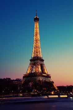 Eiffel Tower is the most recognizable architectural landmark in Paris, France. It is the tallest building in Paris, and the most-visited paid monument in the world.  Tags: night, Paris, Eiffel Tower, illumination