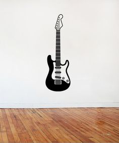 Gibson Les Paul Black Beauty Custom Guitar High Detail Wall - Custom vinyl decals for guitars