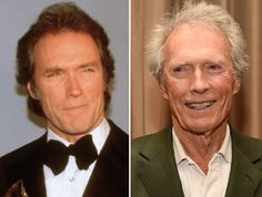 Actors of the '80s: Then and now  Clint Eastwood