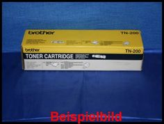 Brother TN-200 Lasertoner Schwarz / Black, -A  - für HL-700 Serie / MFC-9050 / -9500 / -9550 / Fax-8000P / -8050P / -8200P / -8250P / -8650P (nicht HL-820)     Bilder zur Nutzung für private Auktionen z.B. bei Ebay. Gewerbliche Nutzung von Mitbewerbern nicht gestattet. Toner kann auch uns unter www.wir-kaufen-toner.de angeboten werden.