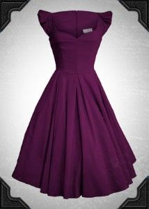 From deadly is the female, aubergine (purple,plum) delilah dress. What how? Why?! Need!