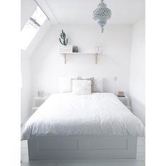 Binnenkijken bij lucelle87 - Minimalistic, white, bohemian - Homedeco.nl