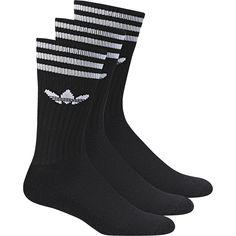 Skarpety Adidas Solid Crew Sock - S21490 - Basketo.pl
