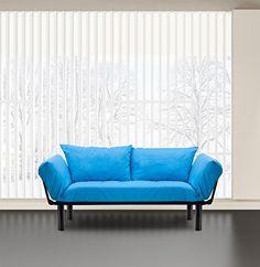 Merax Colorful Line Fabric Futon/sofa Sleeper Couch Loves... https://www.amazon.com/dp/B01EL1F7QA/ref=cm_sw_r_pi_dp_x_JdtnybD5T369F