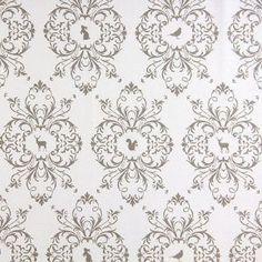 Gutermann Fabric Animals French Cottage Beige