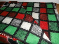 Vintage blankets from our collection November 2016 - retro dekens - Wolldecken