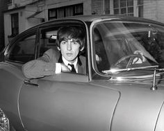 The Beatles Story, Les Beatles, Beatles Songs, Beatles Photos, New Jaguar, Jaguar E Type, George Harrison, Black Mini Cooper, The Quarrymen
