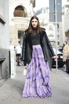 Pin for Later: Ciao Bella! Der beste Street Style der Milan Fashion Week Street Style bei der Mailänder Modewoche