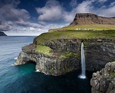 Faroe Islands. by Jonathan Andrew, via Behance