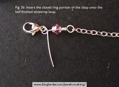 Attaching Chain and Clasps