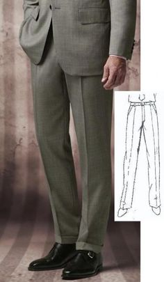 Kent + Shark Anzughose Tuchhose nach Maß. Alle Größen bis 12XL lieferbar.