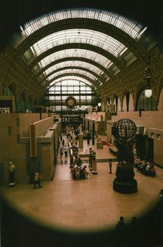 The Musée d'Orsay: a must-visit place in Paris!  Find out more on our blog: http://cadran-hotel-gourmand.com/
