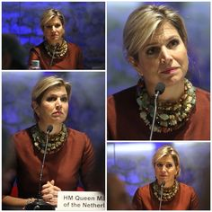 19-01-2015  Queen Maxima at the Financial Inclusion in London.