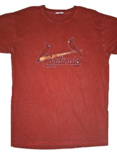 Vintage Mens St. Louis Cardinals Baseball Shirt Mens Size Large $18.00