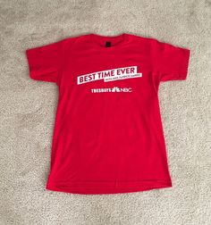 Best Time Ever With Neil Patrick Harris T-Shirt Small NBC TV Show    eBay
