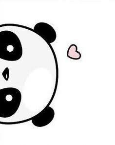 Niedlicher Panda, Panda Art, Doodle Drawings, Doodle Art, Animal Drawings, Drawing Animals, Cute Easy Drawings, Cute Kawaii Drawings, Kawaii Cute