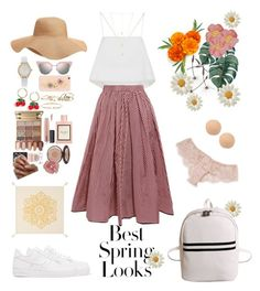 """""""Spring Looks"""" by ryexfashion ❤ liked on Polyvore featuring Vivani, Old Navy, Gucci, A.L.C., NIKE, Fendi, Natalie B, Dolce&Gabbana, J.Crew and GUESS"""