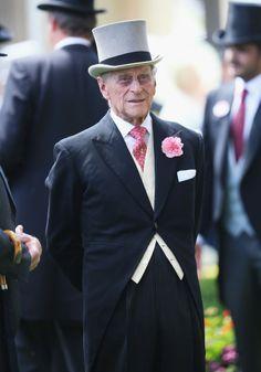 thebritishnobility:  Royal Ascot 2014 Day 2, June 13, 2014-The Duke of Edinburgh