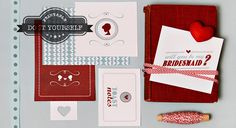 Look how cute these bridesmaid stationary is?!  http://modernweddingshawaii.com/do-it-yourself-bridesmaids-stationary/
