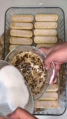 """Instagram'da 🍀 TARİF VAKTİ 🍀: """"Yapımı toplam 15 dakika ve herkesin çok beğendiği tramisu tatlı tarifimi sizinle paylaşmak istedim . Deneyin pişman olmazsınız🙈🙈🙈…"""" Camembert Cheese, Dairy, Instagram, Food, Essen, Meals, Yemek, Eten"""