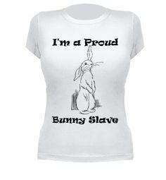 Camiseta Bunny slave - nº 420757 - chica http://www.latostadora.com/isabel_animalis/bunny_slave/420757
