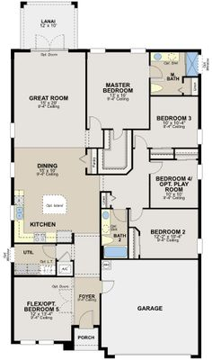 The Marco by Ryland Homes at Connerton Floor Plans Pinterest